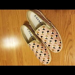 Coach Slip-On Sneakers Size 7